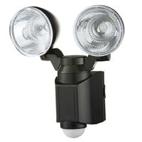乾電池式 LEDセンサーライト2灯式 1.2W×2 DSL-2