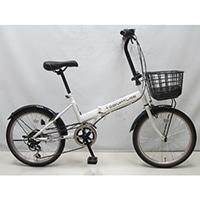 【自転車】折り畳み車 Confiture V 外装6段 ホワイト