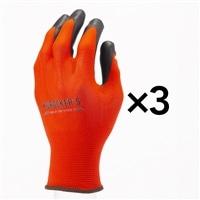 KUROCKER'S 油に強いタッチパネル手袋RD L 3双組