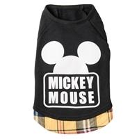 【数量限定・2018秋冬】レイヤード風トレーナー ミッキーマウス ブラック M