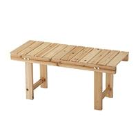 【数量限定】木製縁台 90cm