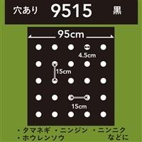 菜園ホールマルチ 黒 9515 50m