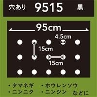 菜園ホールマルチ 黒 9515 10m