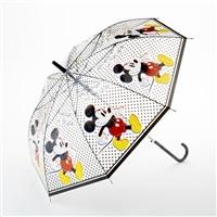 【数量限定】折れにくいビニールジャンプ傘 58cm DISNEY ミッキーマウス