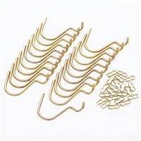 Kumimokuデザインボード U型フック 20個入り ゴールド