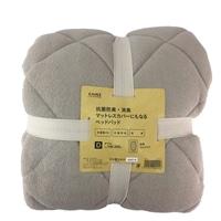 抗菌防臭・消臭 マットレスカバーにもなるベッドパッド ダブル 140×200