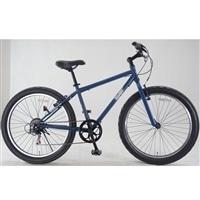【自転車】ファットバイク バンフ 外装6段 26インチ ネイビー