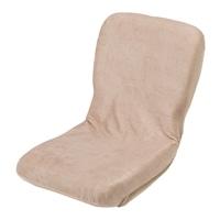 【数量限定】ヘタリに強いコンパクト座椅子 ベージュ