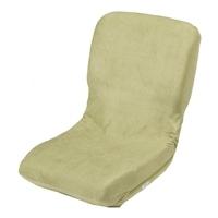 ヘタリに強いコンパクト座椅子 グリーン