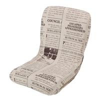 【数量限定】へたりに強いコンパクト座椅子 英字