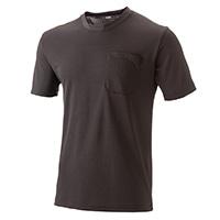 【2019春夏】スピードドライ 鹿の子ワークTシャツ 半袖 ブラック M