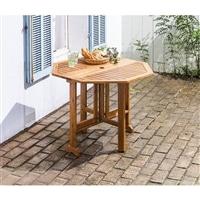 木製折りたたみガーデンテーブル WFT91