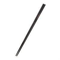 【trv】積層箸 極細 黒 23cm(食洗機対応)