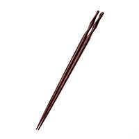 【trv】積層箸 ひねり細身 朱 23cm(食洗機対応)