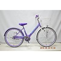 【自転車】子供車 POPSTYLE III 20インチ パープル【別送品】