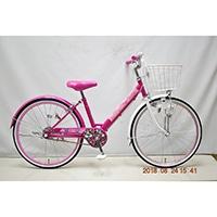 【自転車】子供車 POPSTYLE III 24インチ ピンク【別送品】