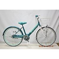 【自転車】子供車 POPSTYLE III 24インチ グリーン【別送品】