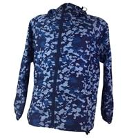 【数量限定】撥水ジャケット L カモフラ ブルー