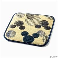 【数量限定・2019春夏】いぐさシートクッション ミッキーマウス