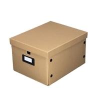 【数量限定】組立式フタ付き収納ボックスワイド NA