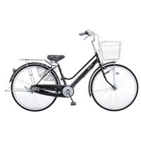 【自転車】【全国配送】KiLaLiパンクしない軽快車 内装3段 LEDオートライト 27インチ ブラック【別配送】