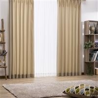 4枚組セットカーテン ウィンディア 100×178