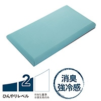 【2019春夏】もっとひんやり消臭flatty フラッティ専用カバー グリーン120