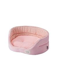 【2019春夏】丸型ベッド ピンク M
