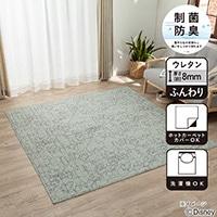 【数量限定・2019春夏】制菌キルトラグ ミッキーマウス&pet 185×185
