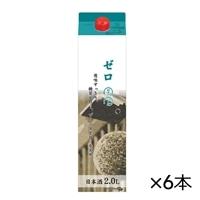 【ケース販売】杜氏一心 糖質ゼロ プリン体ゼロ 2Lパック×6本