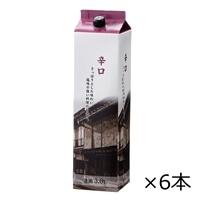 【ケース販売】杜氏一心 辛口 3L×6本