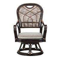 【SU】籐回転座椅子