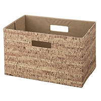 【数量限定】持ち運びしやすい折りたたみ収納ボックス コルク