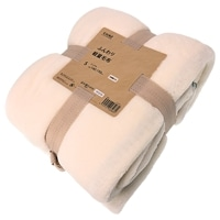 ふんわり軽量毛布 シングル 140×190 アイボリー
