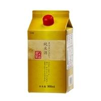 魚沼産こしひかり純米酒 パック 900ml