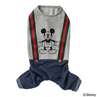 【数量限定・2019春夏】ズボン付きウェア ミッキーマウス グレー SD