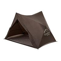 簡単にしまえるワンプッシュ テント