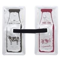 【2019春夏】保冷剤2個セット ミルクボトル