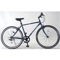 【自転車】クロスバイク アヴェントゥーラ AVVENTURA 外装6段 700×28C エアロリム仕様 ネイビー