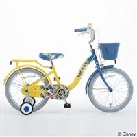 【自転車】ディズニーデザインの幼児車 ミッキー 16インチ イエロー【別送品】