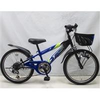 【自転車】ジュニアマウンテンバイク サンダーフォースV 20インチ ブルー
