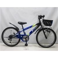 【自転車】ジュニアマウンテンバイク サンダーフォースV 22インチ ブルー