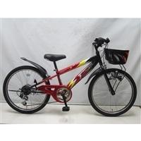 【自転車】ジュニアマウンテンバイク サンダーフォースV 22インチ レッド