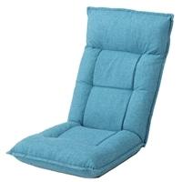 B24倒れにくい座椅子ライトブルー
