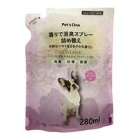 PET'S ONE 香りで消臭ペットスプレー スイートフローラルの香り 詰め替え用 280ml