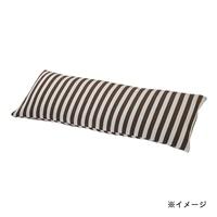 ふんわりパイルロング枕カバー 43×120ブラウン