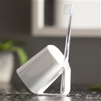 カインズ 抗菌 歯ブラシスタンドコップ ホワイト