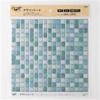 Kumimoku デザインシート タイル 小 ブルー