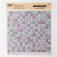 Kumimoku デザインシート タイル 小 ピンク