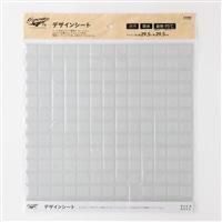 Kumimoku デザインシート タイル 大 ホワイト